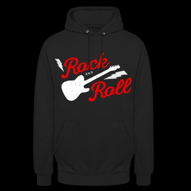 ROCK AND ROLL - Hoodie unisex