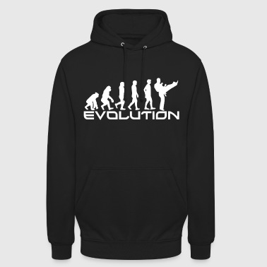 MARTIAL ARTS EVOLUTION - Bluza z kapturem typu unisex
