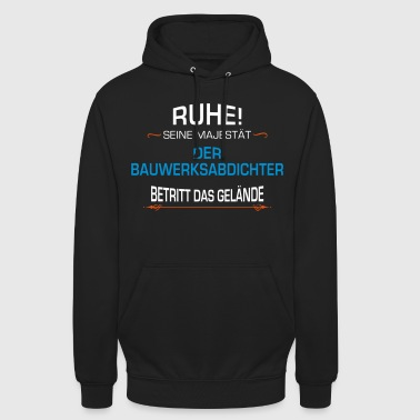 Construction worker occupation - Unisex Hoodie