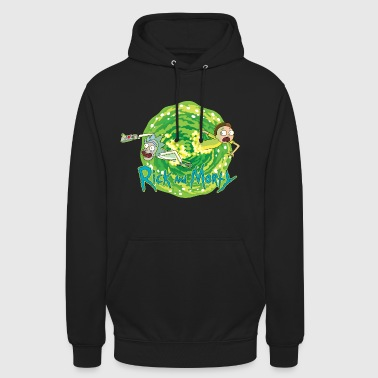 Rick And Morty Multidimensional Travel - Hoodie unisex