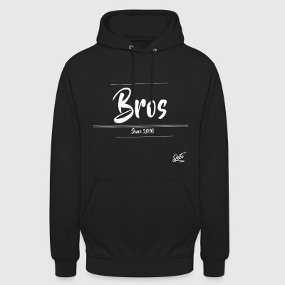 (MEN)BROS ,SINCE 2016 - Luvtröja unisex