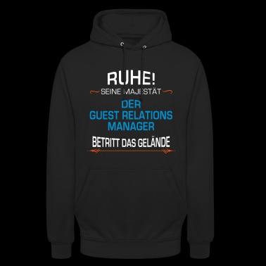 Guest - Relations - Manager Beruf - Unisex Hoodie