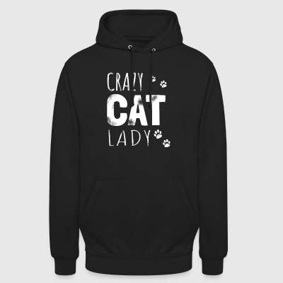 Crazy Cat Lady - Cat gave - Unisex-hettegenser