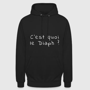 La question qui tue - Sweat-shirt à capuche unisexe