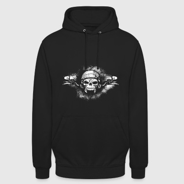 motorcyclists logo - Unisex Hoodie