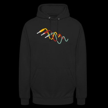 patch cable - Unisex Hoodie