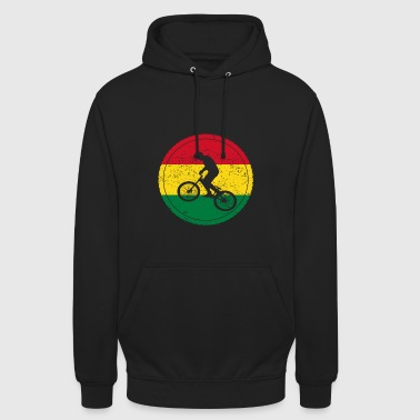 Vélo amour bmx vélo Bolivie - Sweat-shirt à capuche unisexe