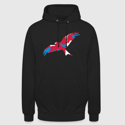 UK WALES RED KITE - CAMO / CAMOUFLAGE - Unisex Hoodie