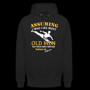 Tae Kwon Do Veteran Male - Unisex Hoodie