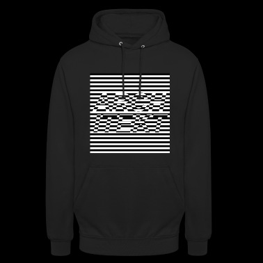 Architect optical illusion motif gift idea - Unisex Hoodie