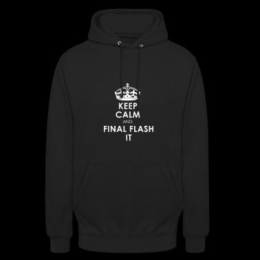 Vegeta Final Flash Dragon Ball Cadeau Gardez le calme - Sweat-shirt à capuche unisexe