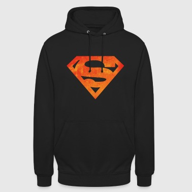 Justice League Superman Logo - Sweat-shirt à capuche unisexe