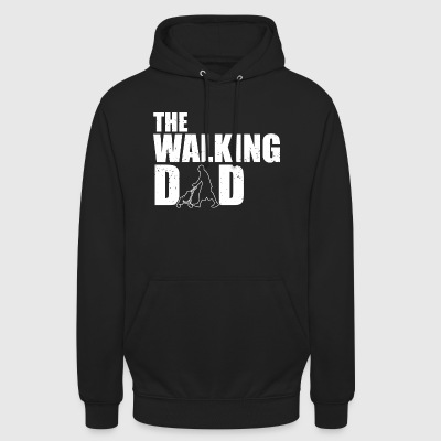 The walking dad! Serie! Zombie! lustig - Unisex Hoodie