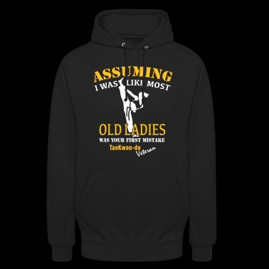 Tae Kwon Do Ladies Veteran - Unisex Hoodie