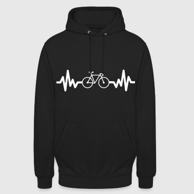 bike is life - cycling - Unisex Hoodie