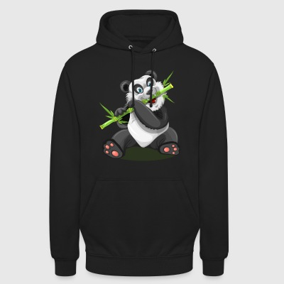 panda joindre - Sweat-shirt à capuche unisexe