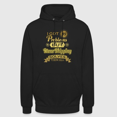i got 99 problems solved probleme Stone Skipping - Unisex Hoodie