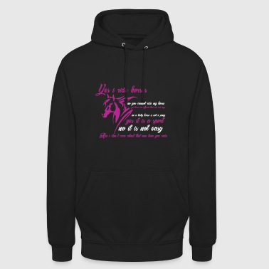 Riding - horse - horse - Gift - Hoodie unisex