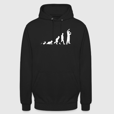 Rapper Hip Hop Fun skjorte Gaver Grow Evolution - Unisex-hettegenser