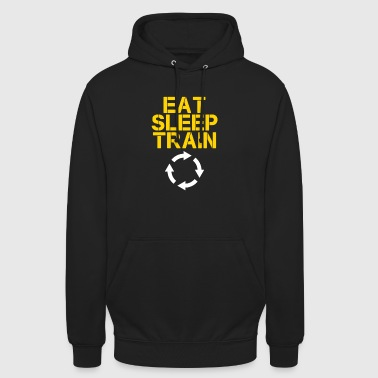Eat Sleep Train - Unisex Hoodie