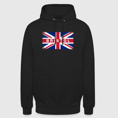Bristol Shirt Vintage United Kingdom Flag T-Shirt - Unisex Hoodie
