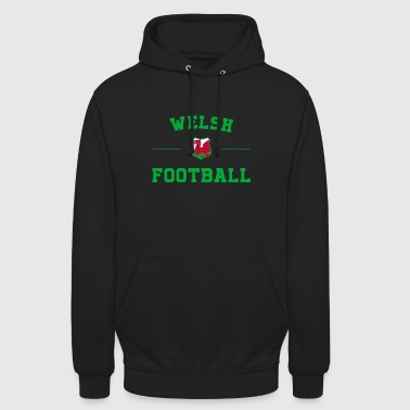 Pays de Galles Football Shirt - Pays de Galles Soccer Jersey - Sweat-shirt à capuche unisexe
