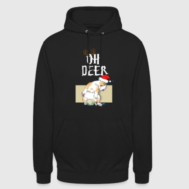 Miniature Bull Terrier Christmas Party Gift - Unisex Hoodie