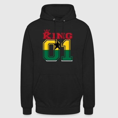 couple land king 01 prince Ghana - Unisex Hoodie