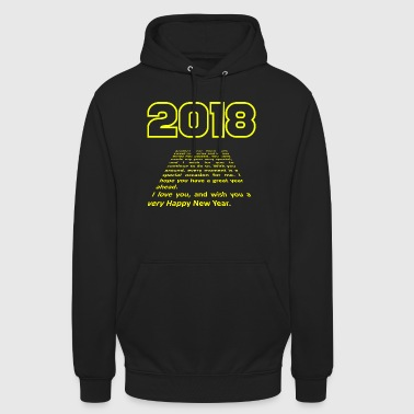 2018 SF Trailer, by SBDesigns - Sweat-shirt à capuche unisexe