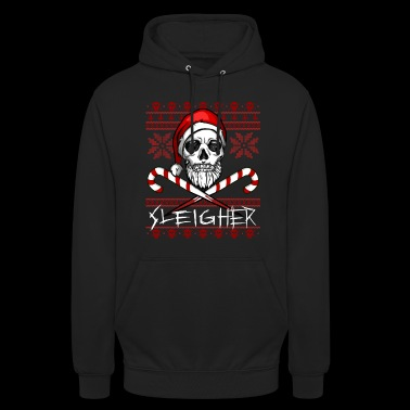 Sleigher Ugly Christmas Sweater - Sweat-shirt à capuche unisexe