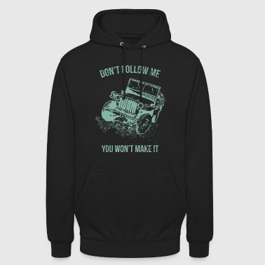 "Follow Me Jeep Auto - Huppari ""unisex"""