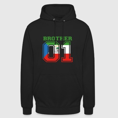 bruder brother 01 king Aequatorialguinea - Unisex Hoodie