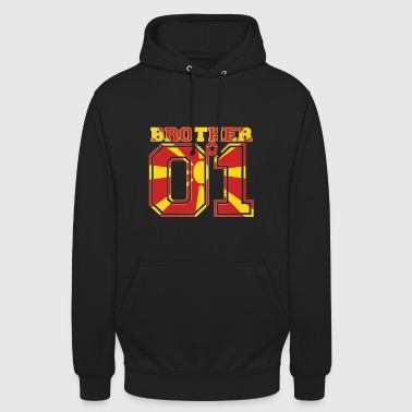 brother brother brother 01 partner Macedonia - Unisex Hoodie