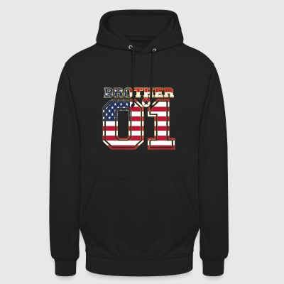 brother brother brother 01 partner USA America - Unisex Hoodie