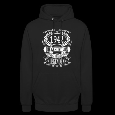 birth year 1942 birth year birth - Unisex Hoodie