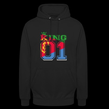 couple land king 01 prince Eritrea - Unisex Hoodie