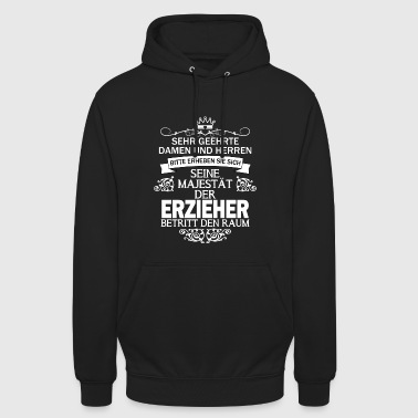 his majesty educator gift - Unisex Hoodie