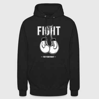 Gants de boxe - Sweat-shirt à capuche unisexe