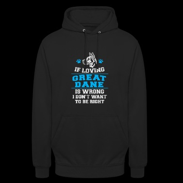 Great Dane Shirt - Unisex Hoodie