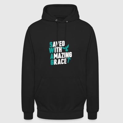 Save with amazing grace - Unisex Hoodie