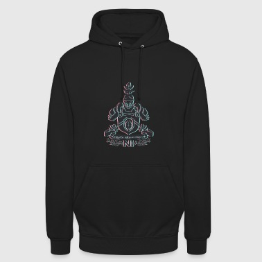 Knight with shield - Unisex Hoodie