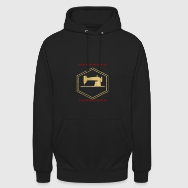 Golden sewing machine - Unisex Hoodie