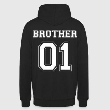 BROTHER 01 - WHITE EDITION - Unisex Hoodie