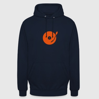 Turntable turntable - Sweat-shirt à capuche unisexe