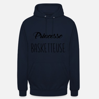 Princesse En Basket princesse basketteuse - Sweat-shirt à capuche unisexe