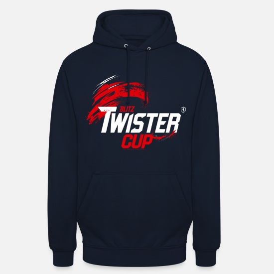 Officialbrands Felpe - World Of Tanks Blitz Twister Cup Competition - Hoodie unisex blu scuro