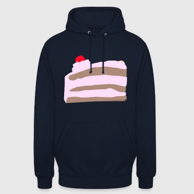 Illustrateur gâteau illustré - Sweat-shirt à capuche unisexe