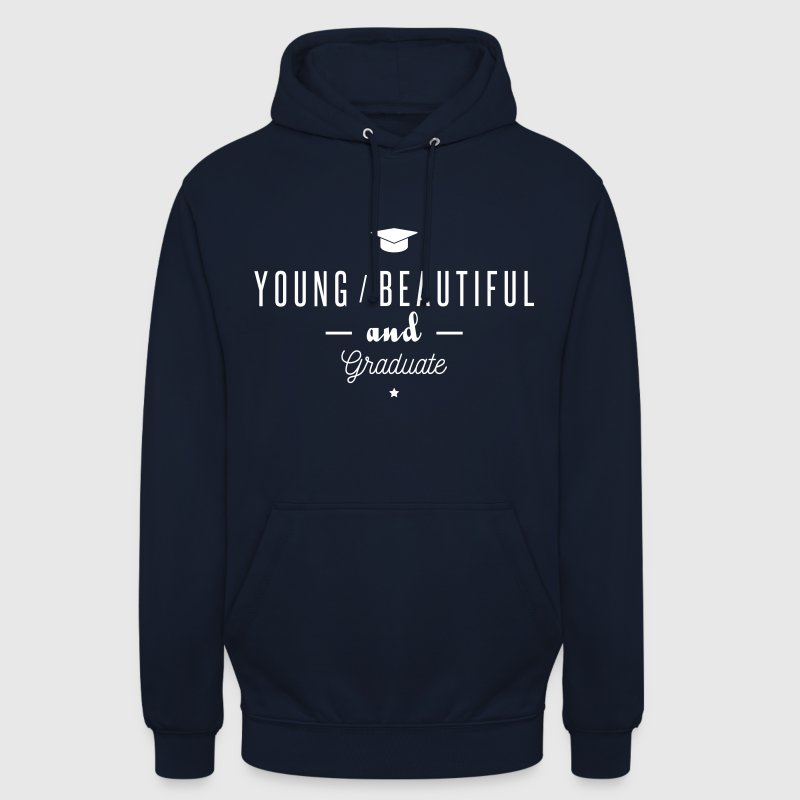 young and graduate - Sweat-shirt à capuche unisexe