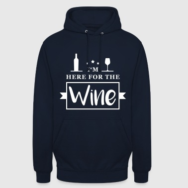 In Here For The Wine - Unisex Hoodie