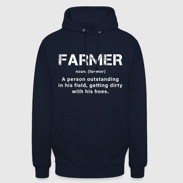 Farming A great farmer - Unisex Hoodie